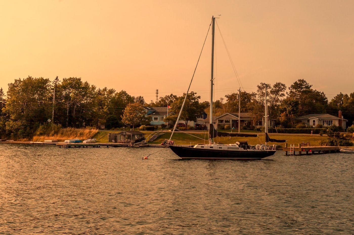加拿大Nova Scotia, 帆船灯塔老鹰_图1-15
