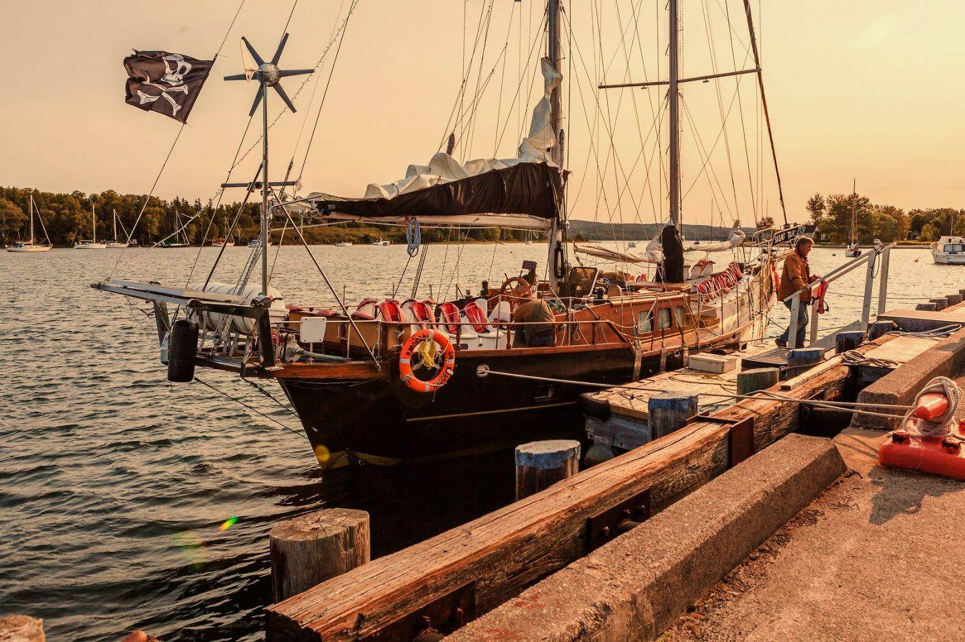 加拿大Nova Scotia, 帆船灯塔老鹰_图1-18