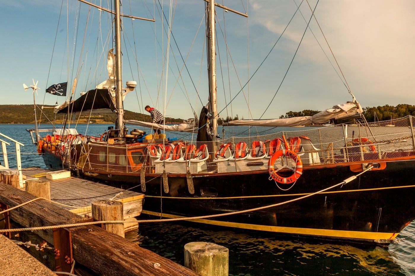 加拿大Nova Scotia, 帆船灯塔老鹰_图1-37