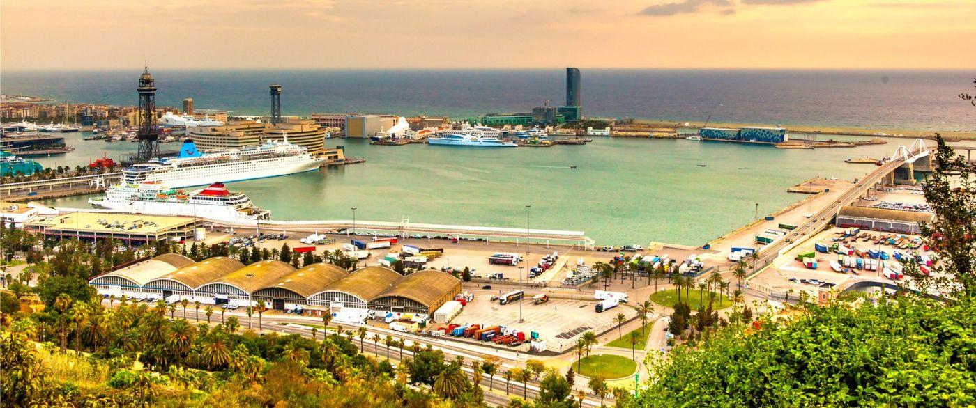 西班牙小岛,全景图_图1-1