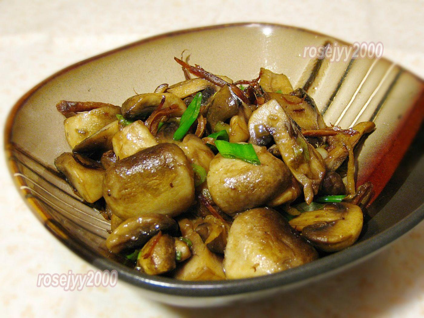 火腿烧蘑菇_图1-1