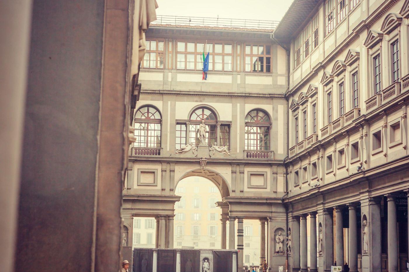 意大利佛罗伦斯乌菲兹美术馆, 进去看一看_图1-8