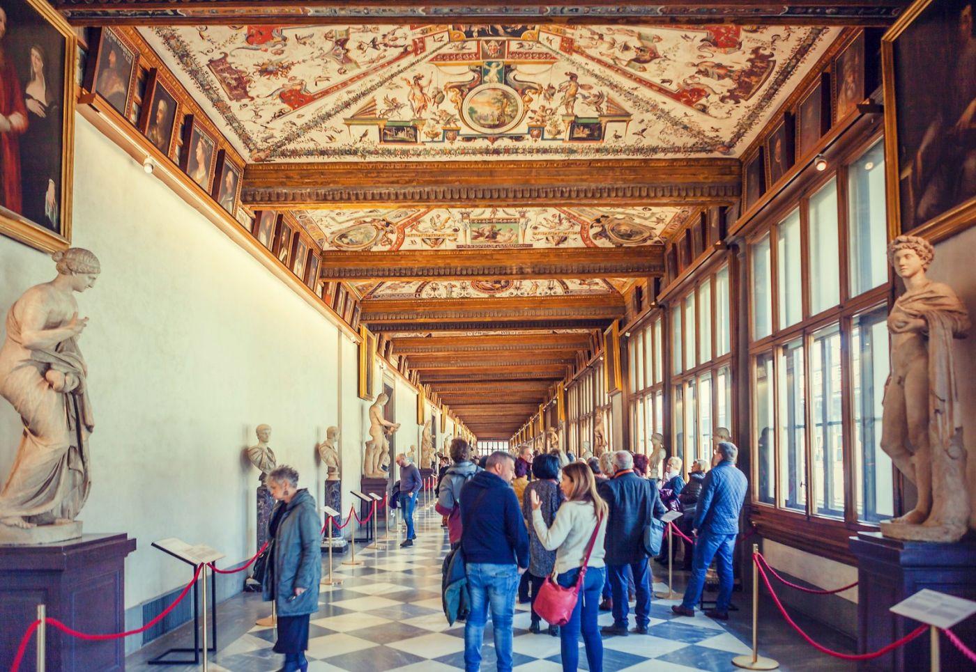 意大利佛罗伦斯乌菲兹美术馆, 进去看一看_图1-7