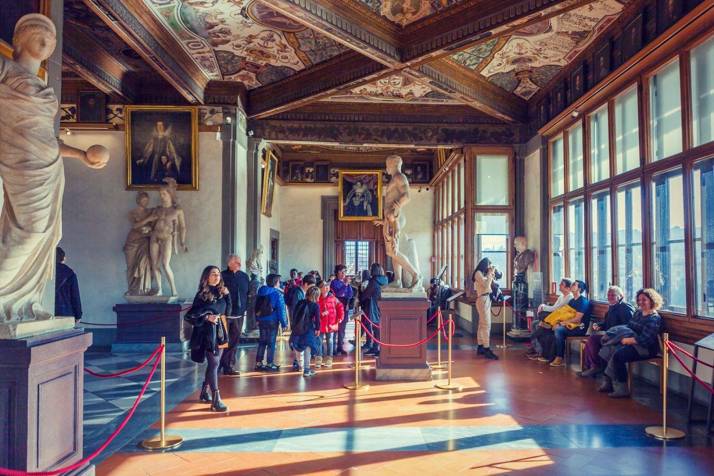 意大利佛罗伦斯乌菲兹美术馆, 进去看一看_图1-5