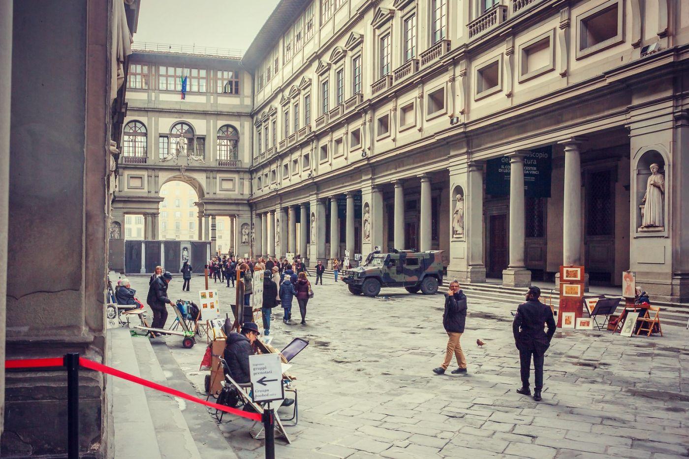 意大利佛罗伦斯乌菲兹美术馆, 进去看一看_图1-4