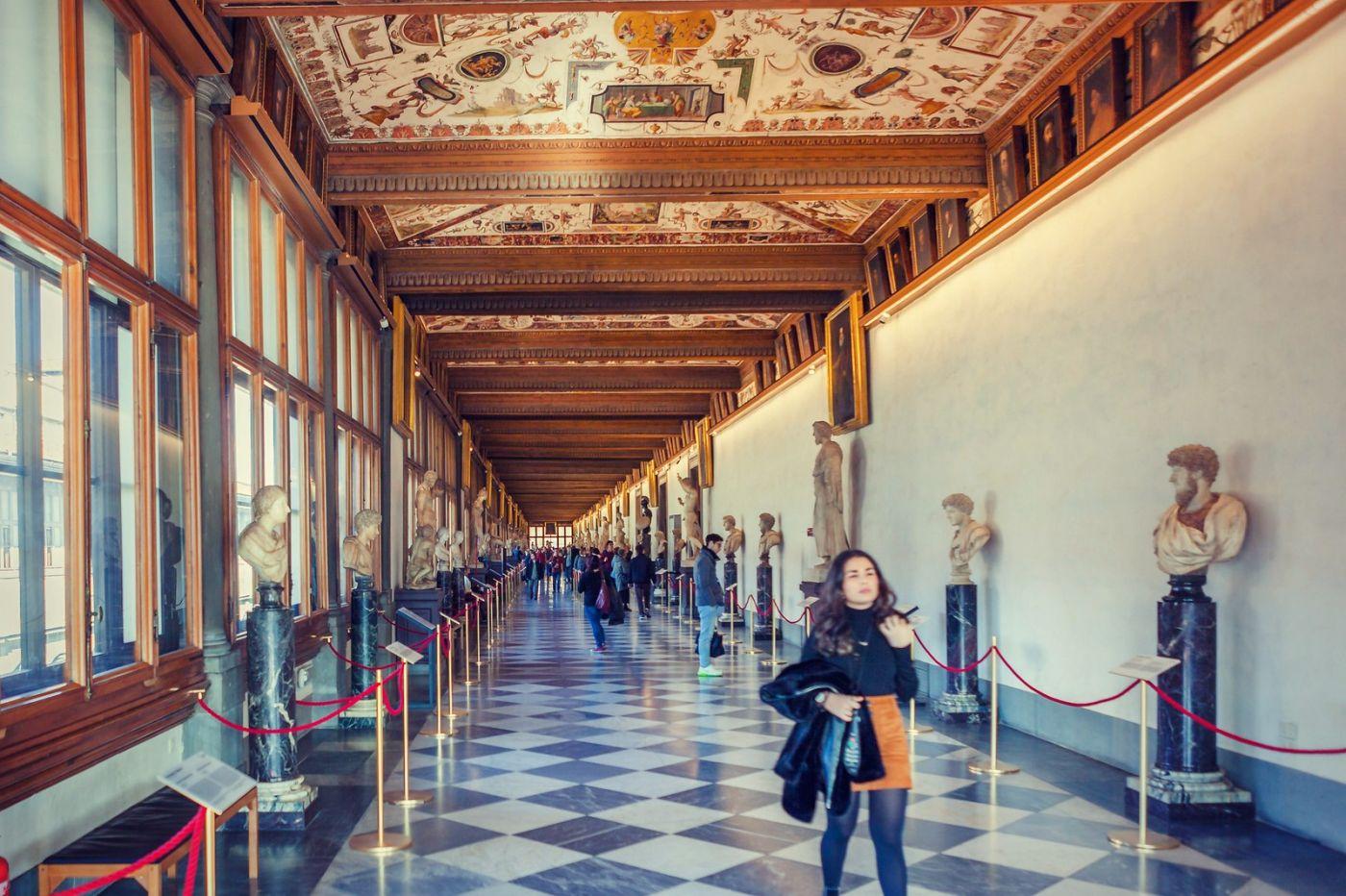 意大利佛罗伦斯乌菲兹美术馆, 进去看一看_图1-9