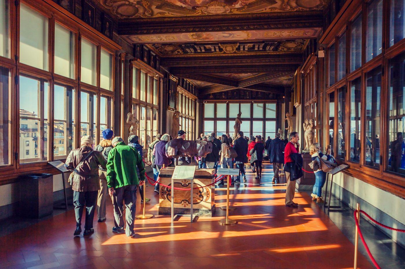 意大利佛罗伦斯乌菲兹美术馆, 进去看一看_图1-11