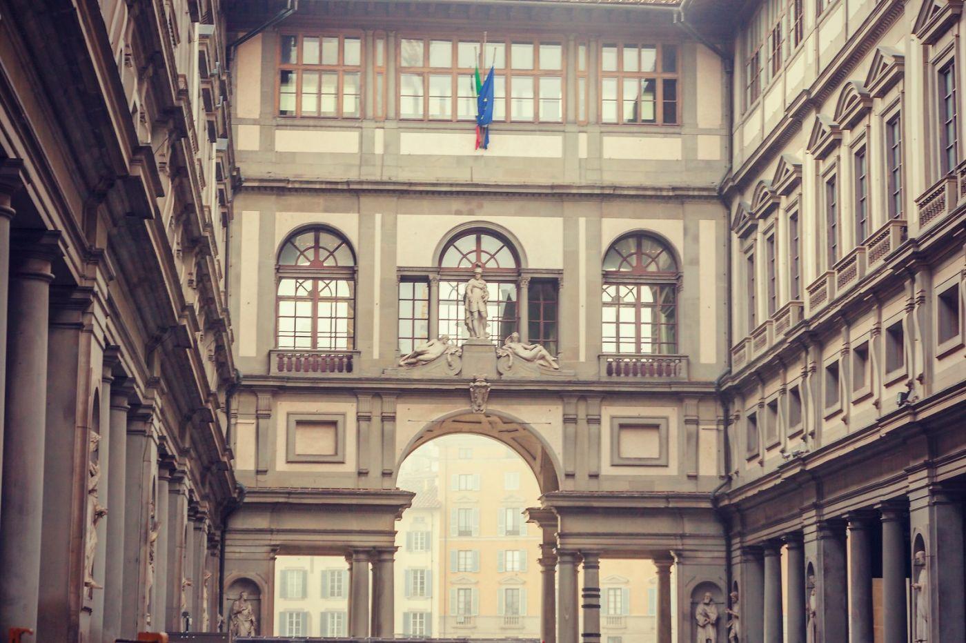 意大利佛罗伦斯乌菲兹美术馆, 进去看一看_图1-10