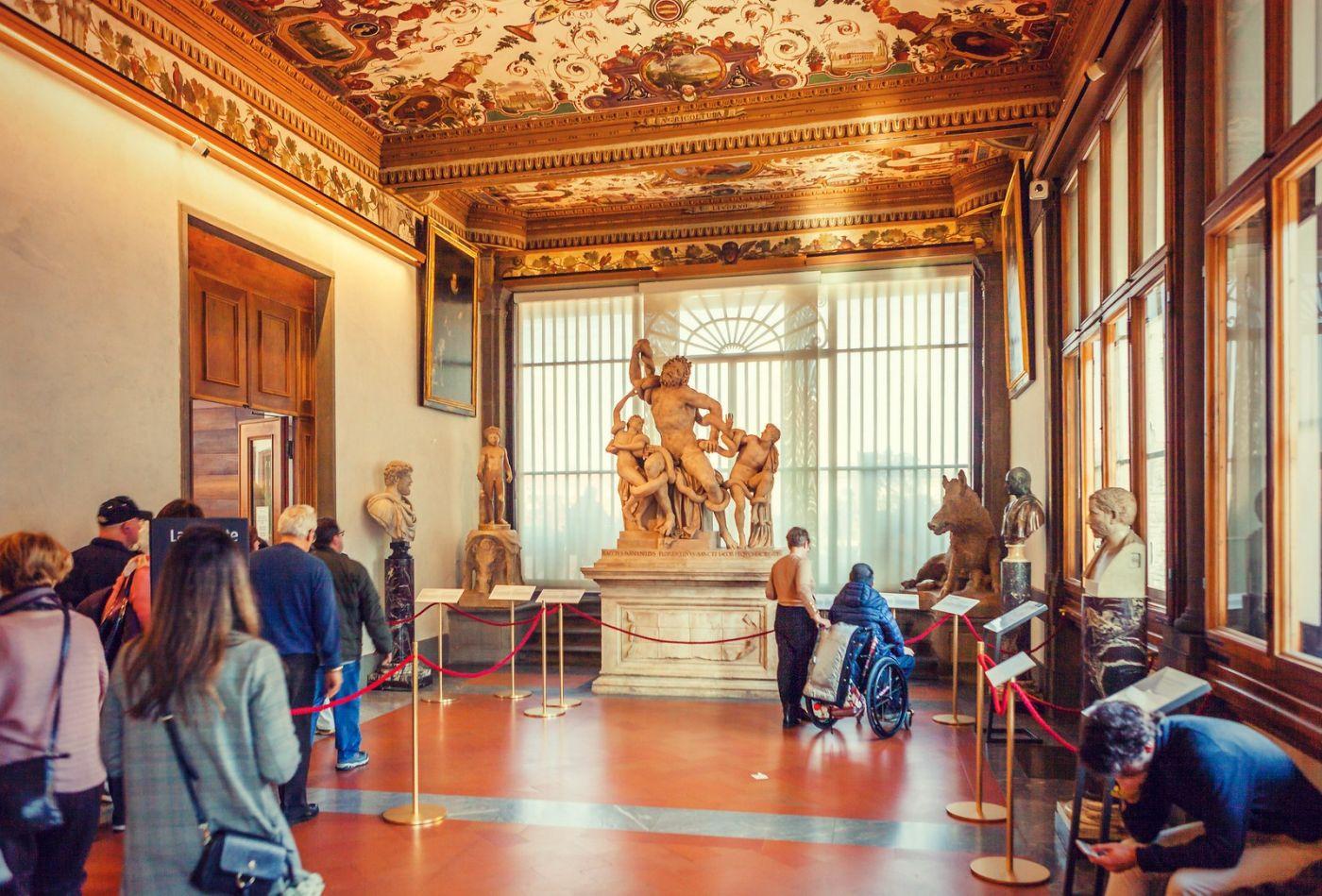 意大利佛罗伦斯乌菲兹美术馆, 进去看一看_图1-12