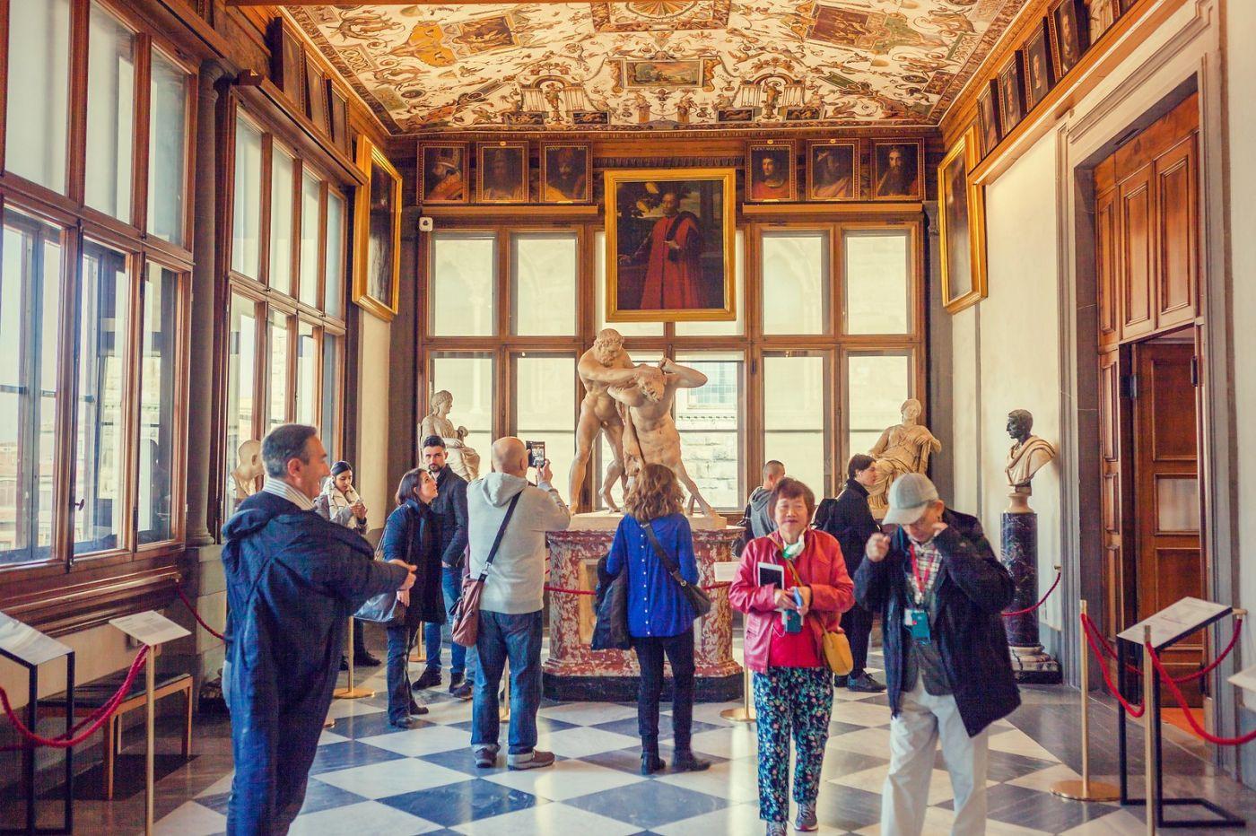 意大利佛罗伦斯乌菲兹美术馆, 进去看一看_图1-14