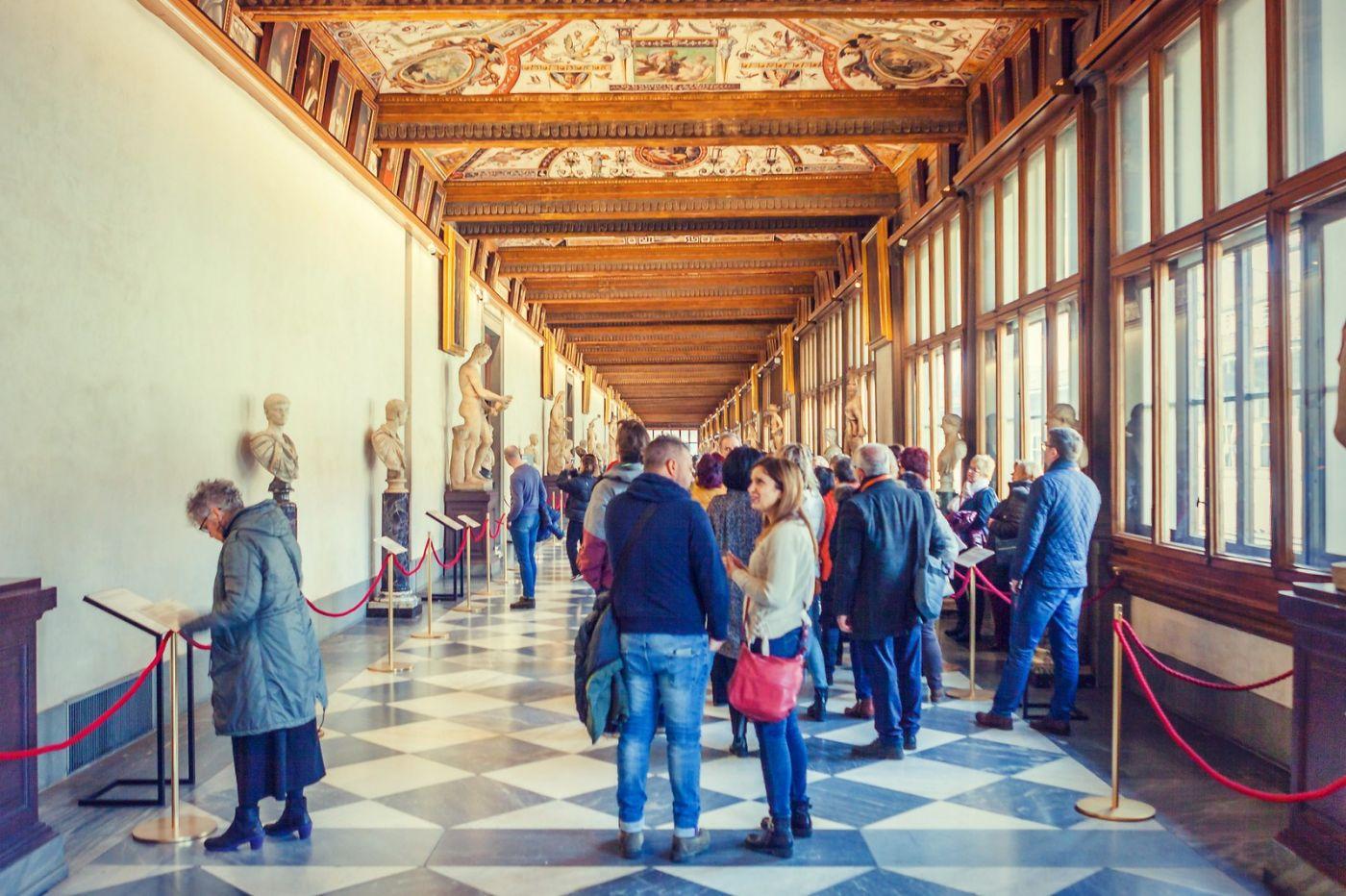 意大利佛罗伦斯乌菲兹美术馆, 进去看一看_图1-15