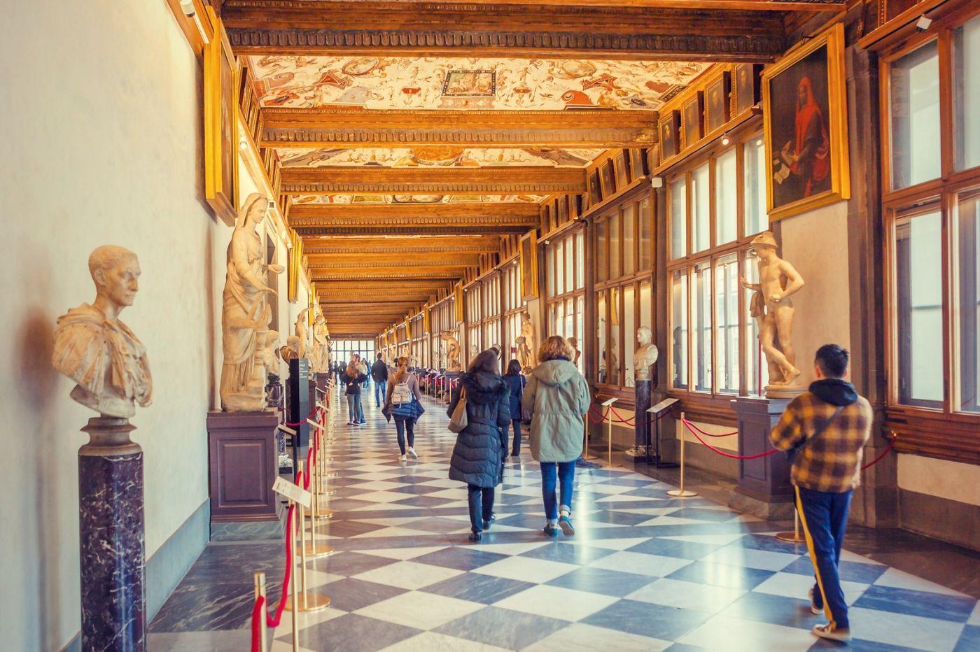 意大利佛罗伦斯乌菲兹美术馆, 进去看一看_图1-17