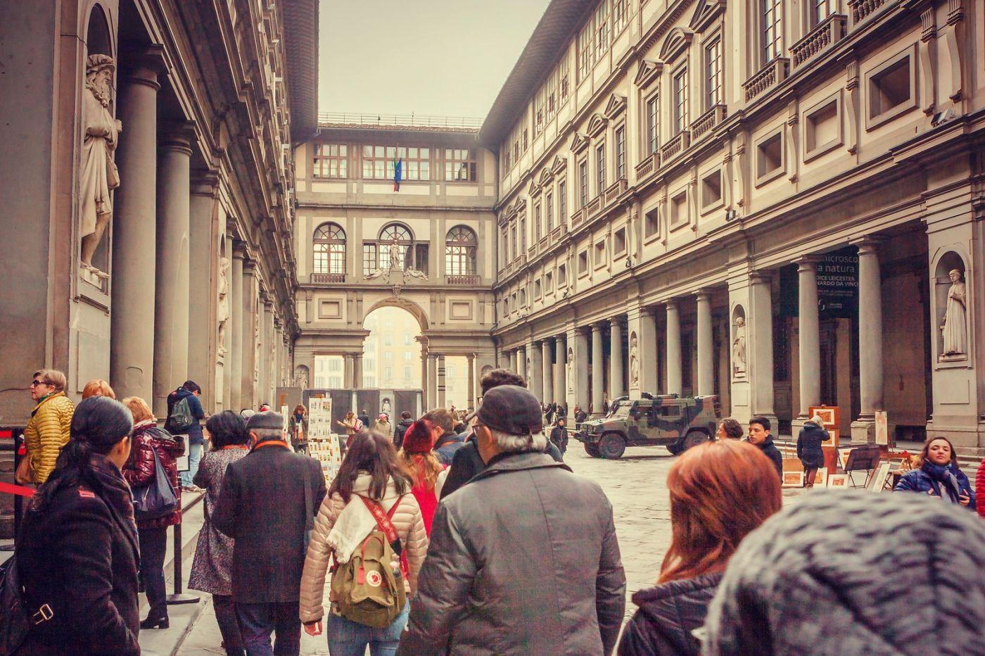 意大利佛罗伦斯乌菲兹美术馆, 进去看一看_图1-18