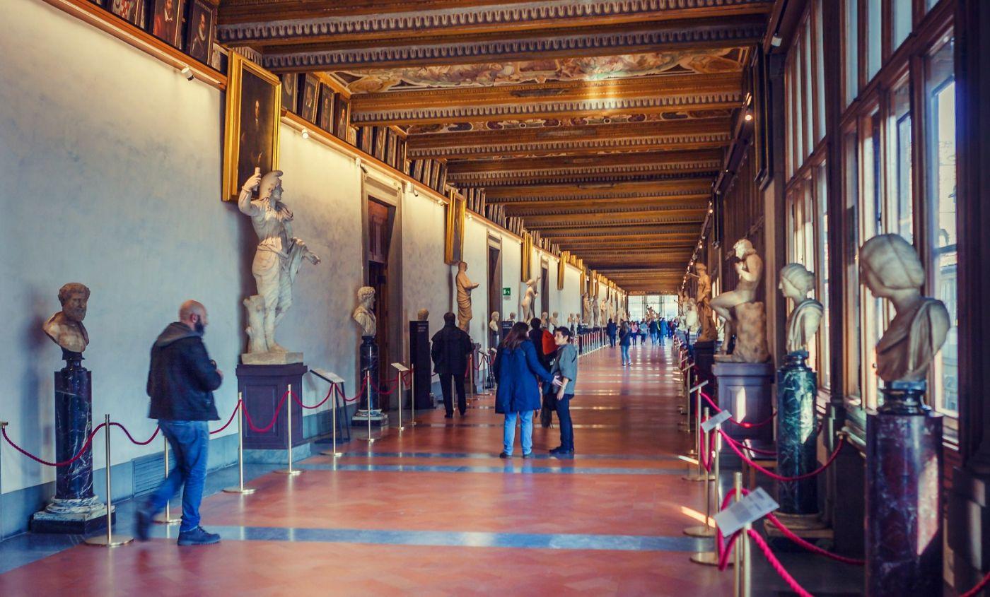 意大利佛罗伦斯乌菲兹美术馆, 进去看一看_图1-19