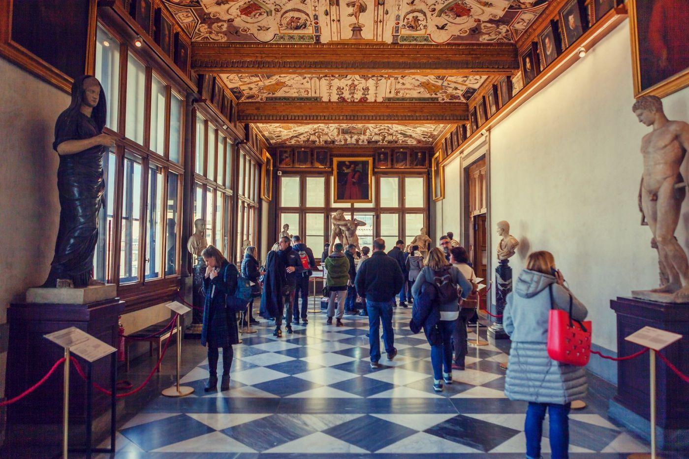 意大利佛罗伦斯乌菲兹美术馆, 进去看一看_图1-23