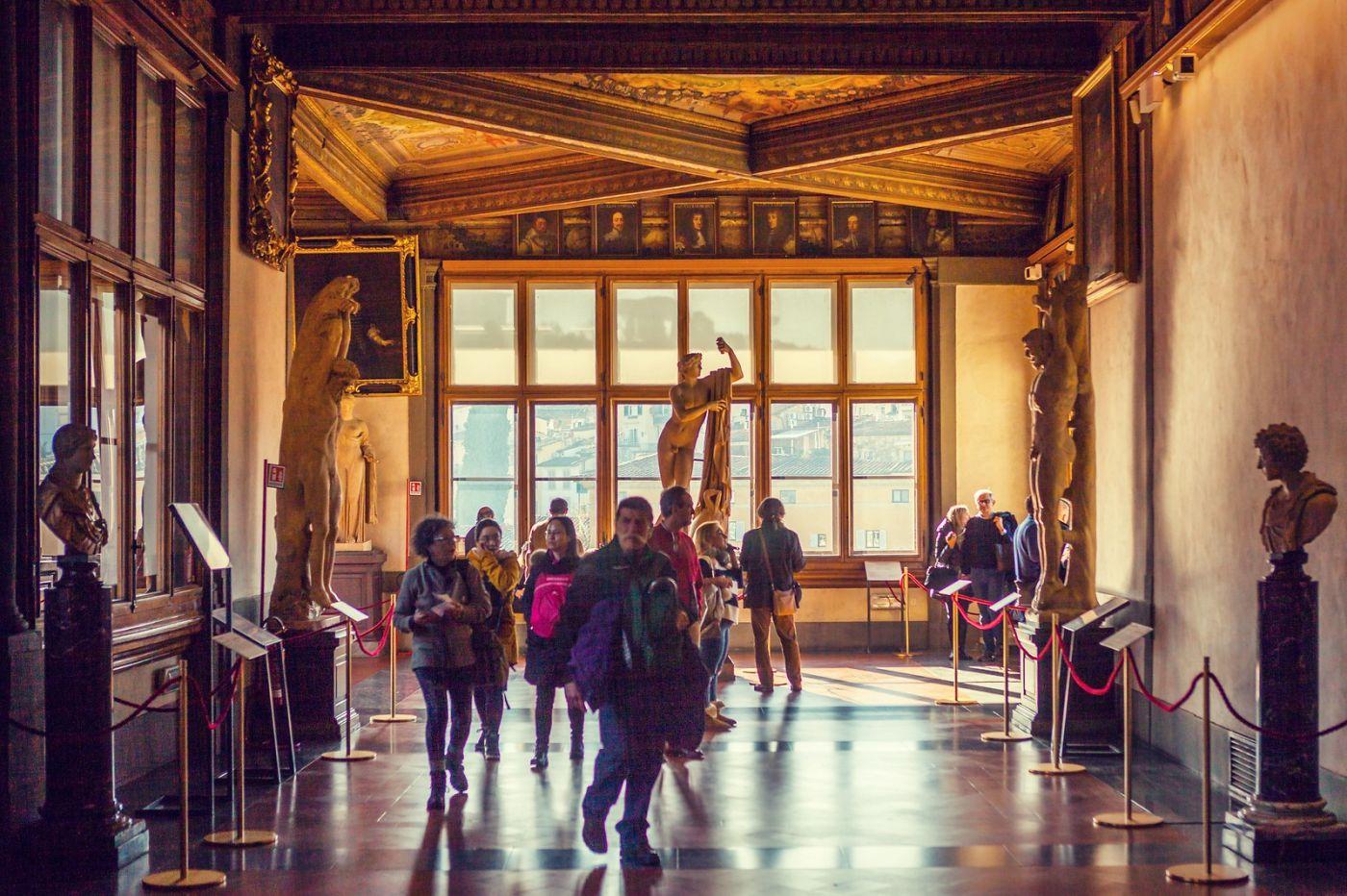 意大利佛罗伦斯乌菲兹美术馆, 进去看一看_图1-25