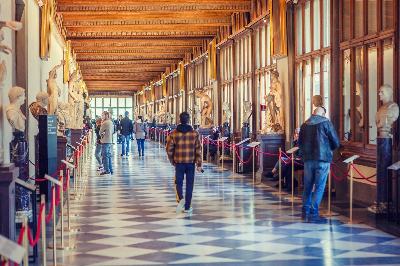 意大利佛罗伦斯乌菲兹美术馆, 进去看一看_图1-29