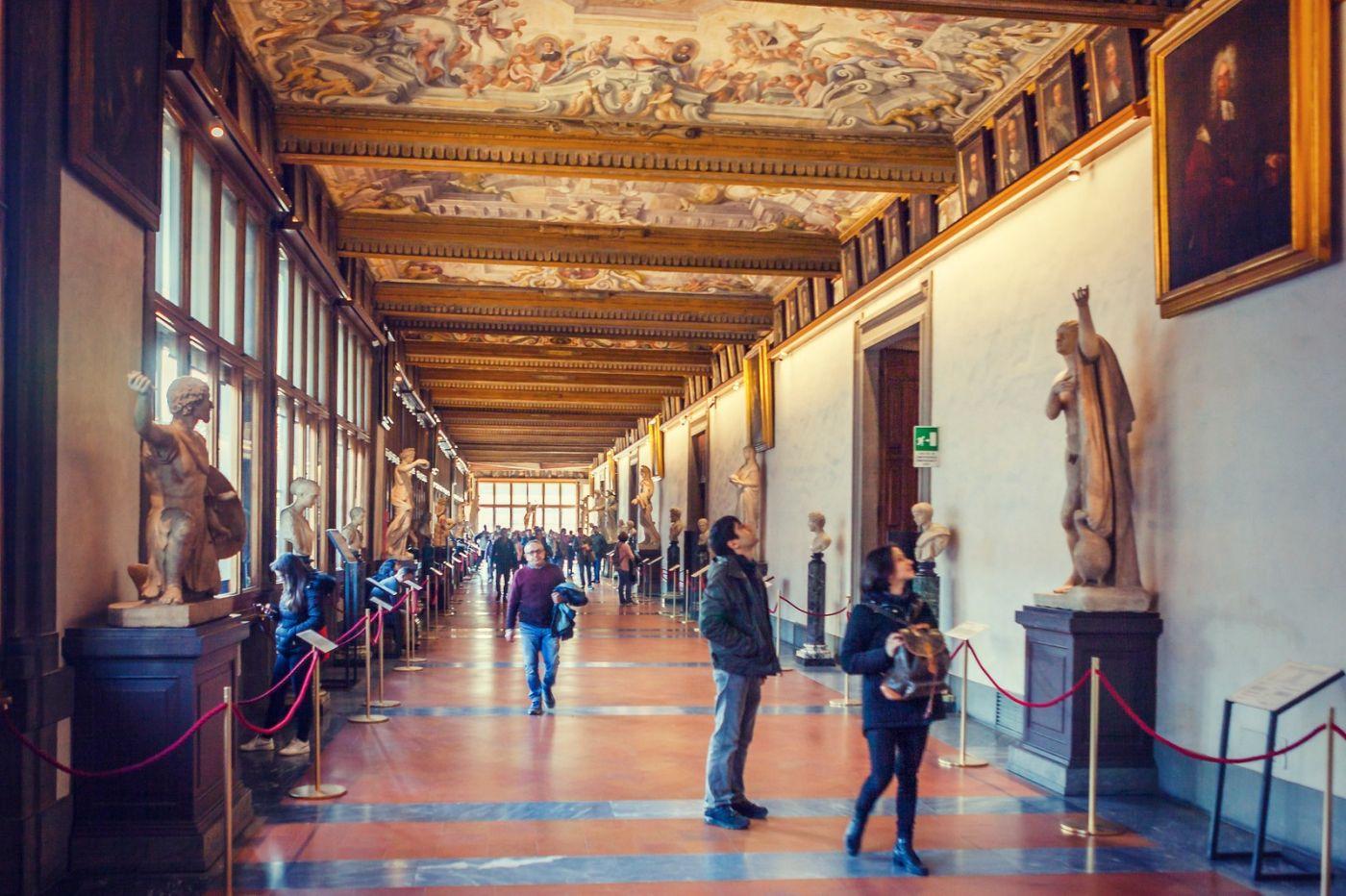 意大利佛罗伦斯乌菲兹美术馆, 进去看一看_图1-32