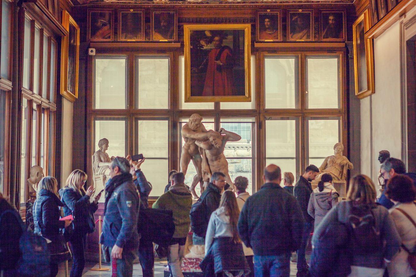 意大利佛罗伦斯乌菲兹美术馆, 进去看一看_图1-31