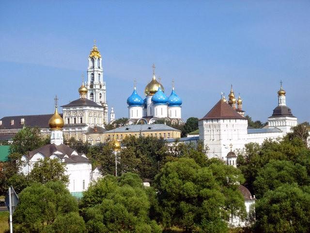 """莫斯科外围""""金环""""行_图1-2"""