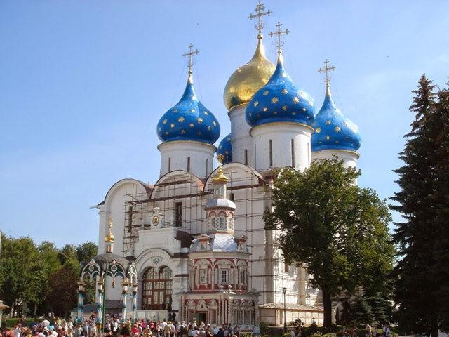 """莫斯科外围""""金环""""行_图1-6"""