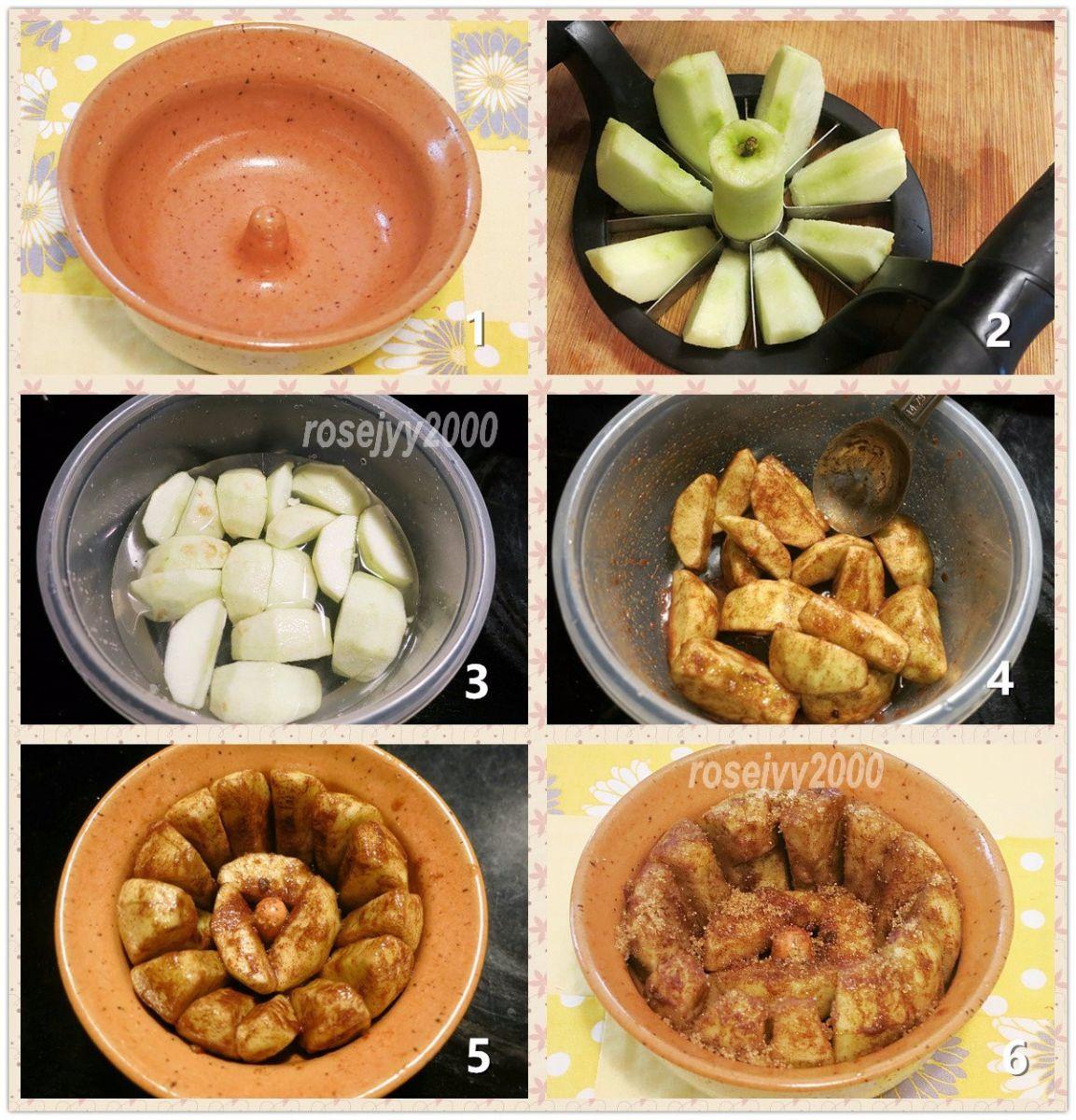 玉桂红糖烤苹果_图1-2