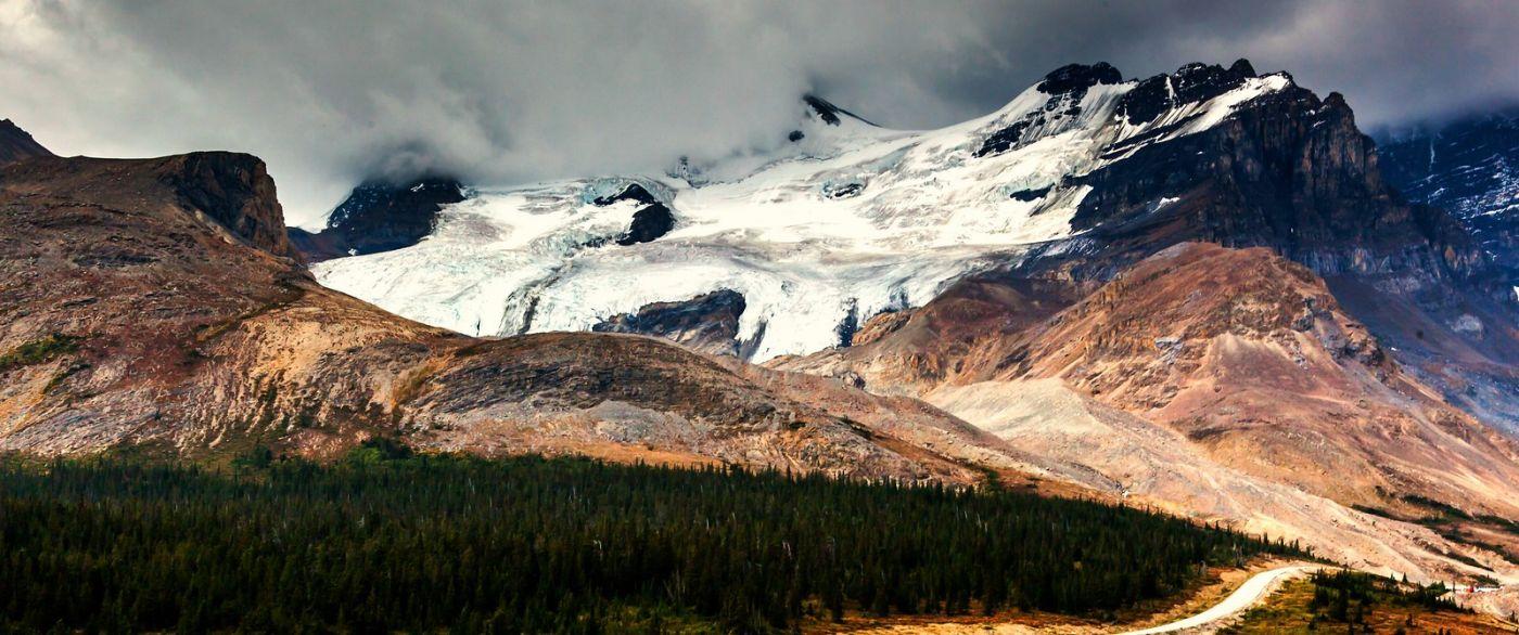 加拿大哥伦比亚冰川,难忘的一段旅程_图1-19