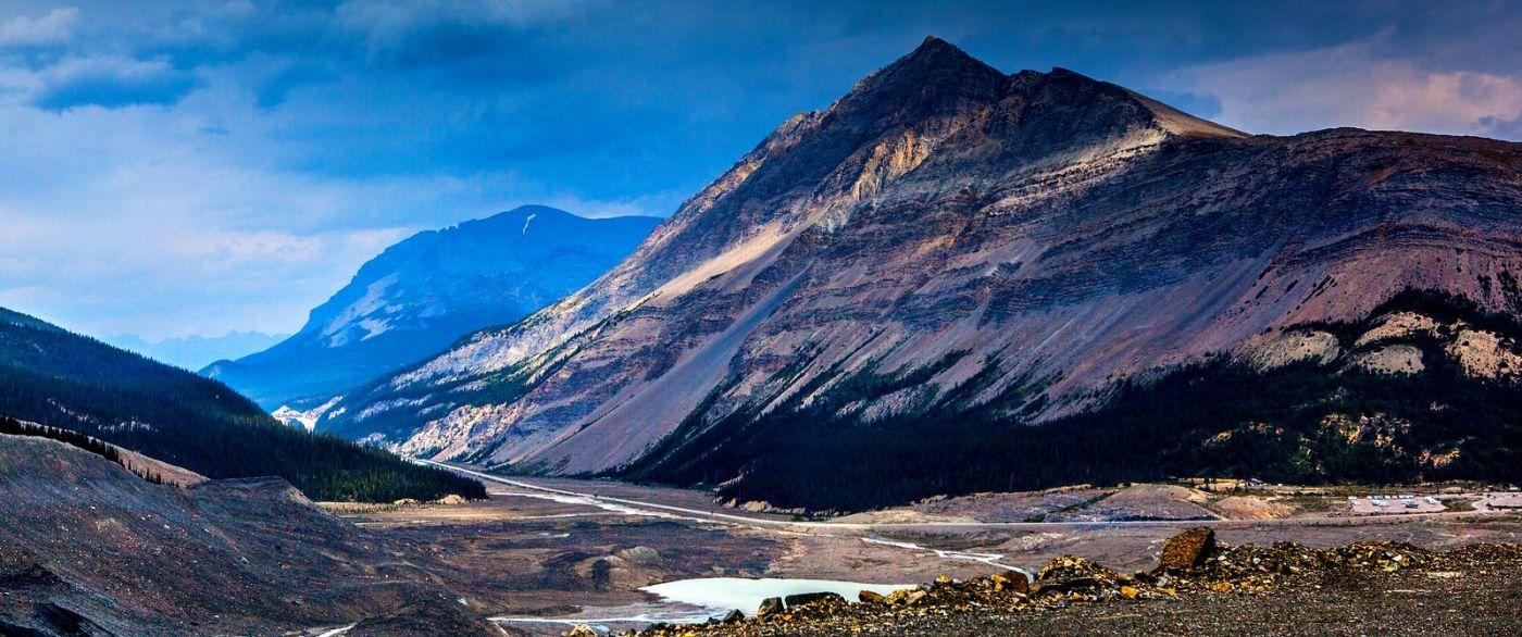 加拿大哥伦比亚冰川,难忘的一段旅程_图1-9