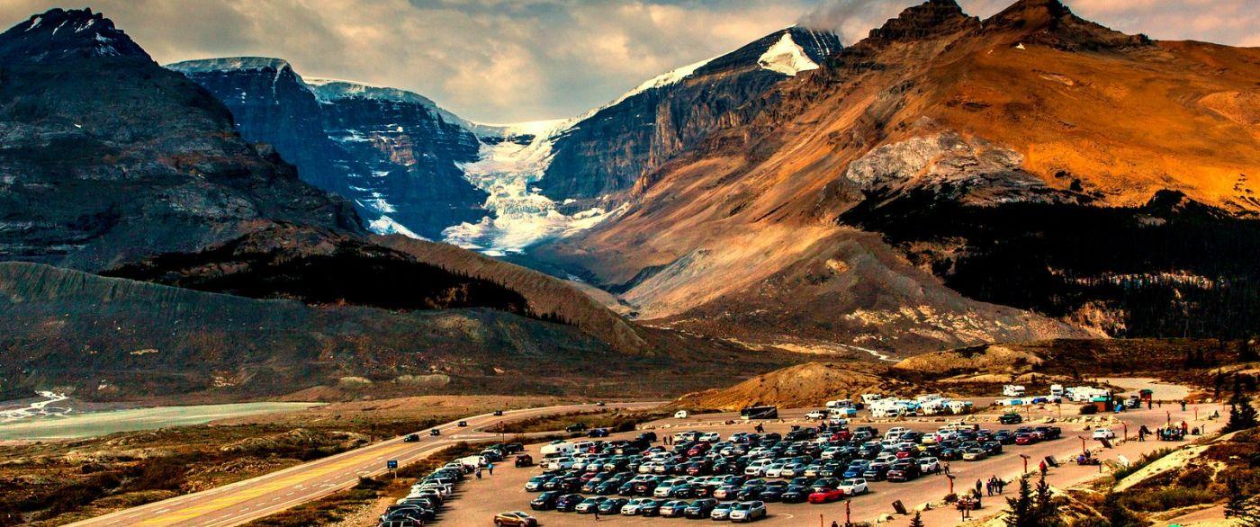 加拿大哥伦比亚冰川,难忘的一段旅程_图1-3