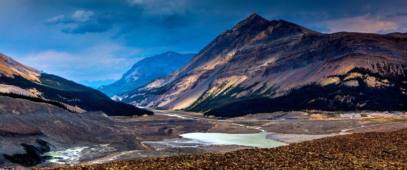 加拿大哥伦比亚冰川,难忘的一段旅程_图1-1