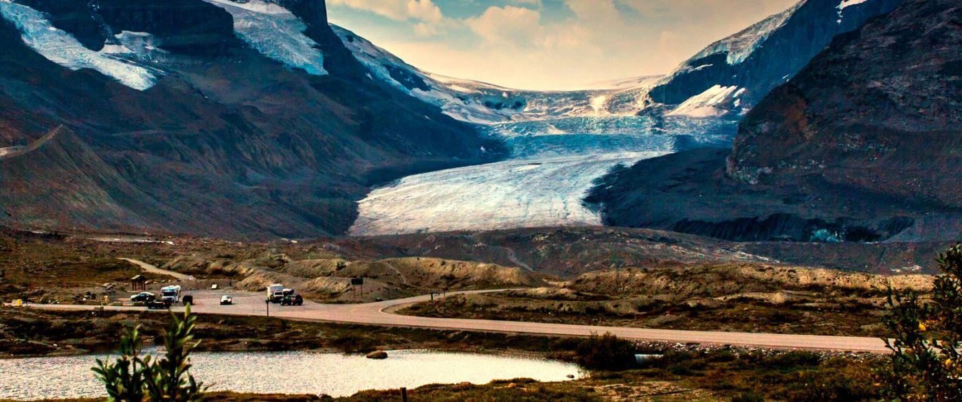 加拿大哥伦比亚冰川,难忘的一段旅程_图1-25