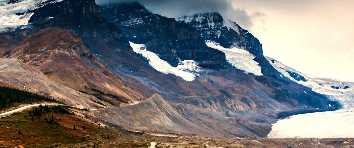 加拿大哥伦比亚冰川,难忘的一段旅程_图1-31