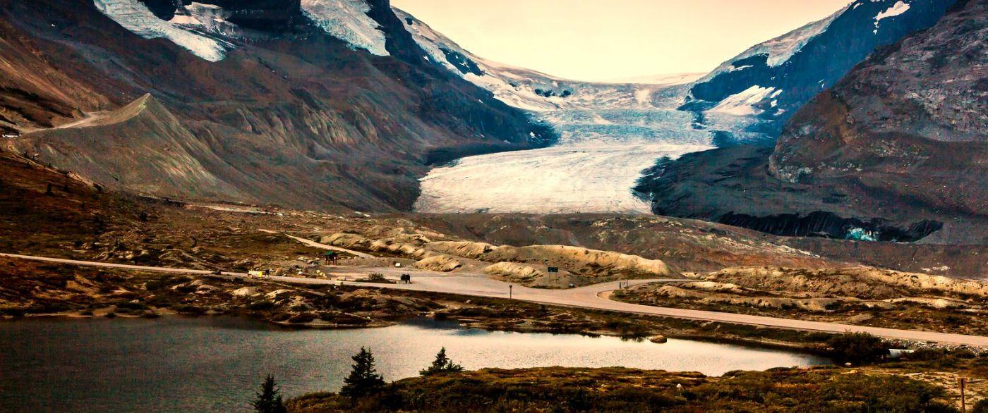 加拿大哥伦比亚冰川,难忘的一段旅程_图1-32