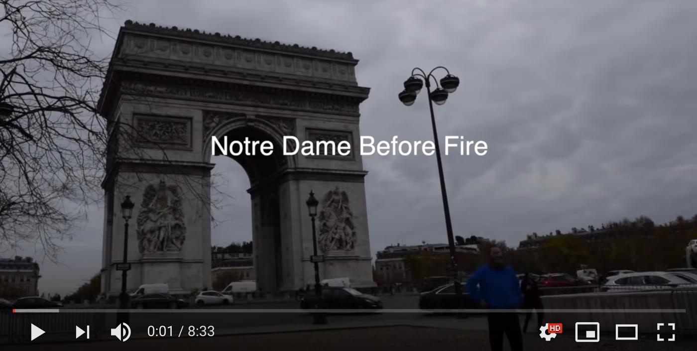 """带你参观""""大火前的巴黎圣母院""""_图1-1"""
