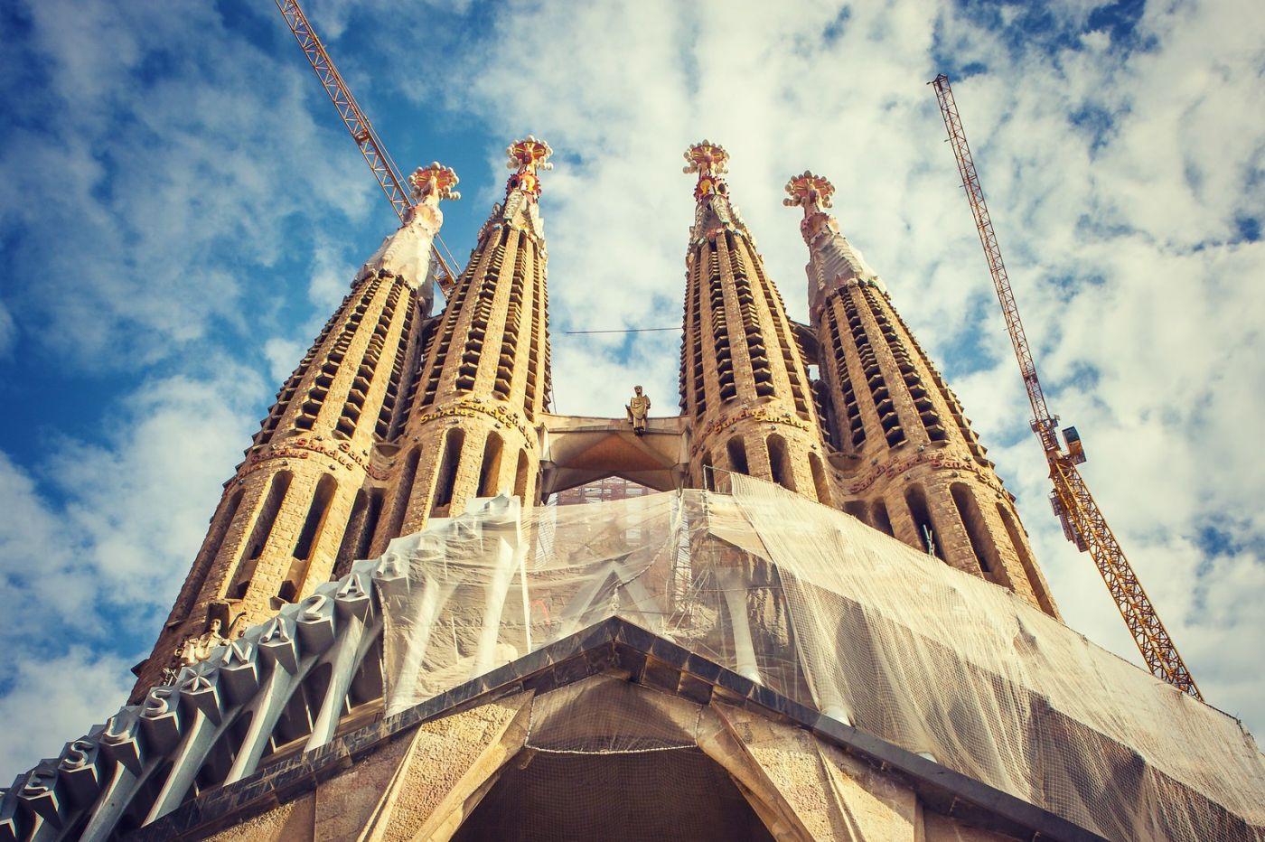 西班牙圣家堂(Sagrada Família), 上帝建筑师-高第的作品_图1-5