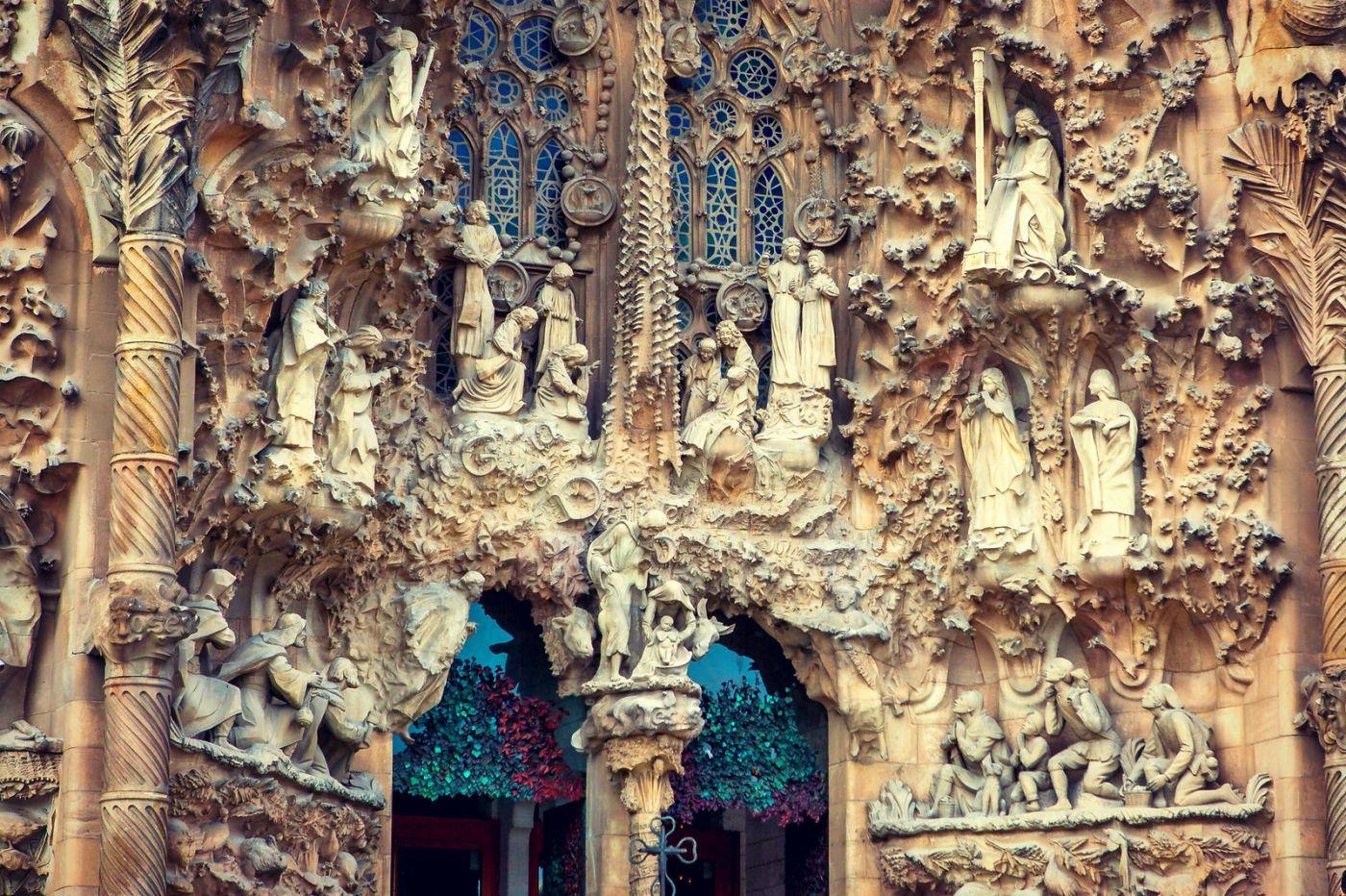 西班牙圣家堂(Sagrada Família), 上帝建筑师-高第的作品_图1-4