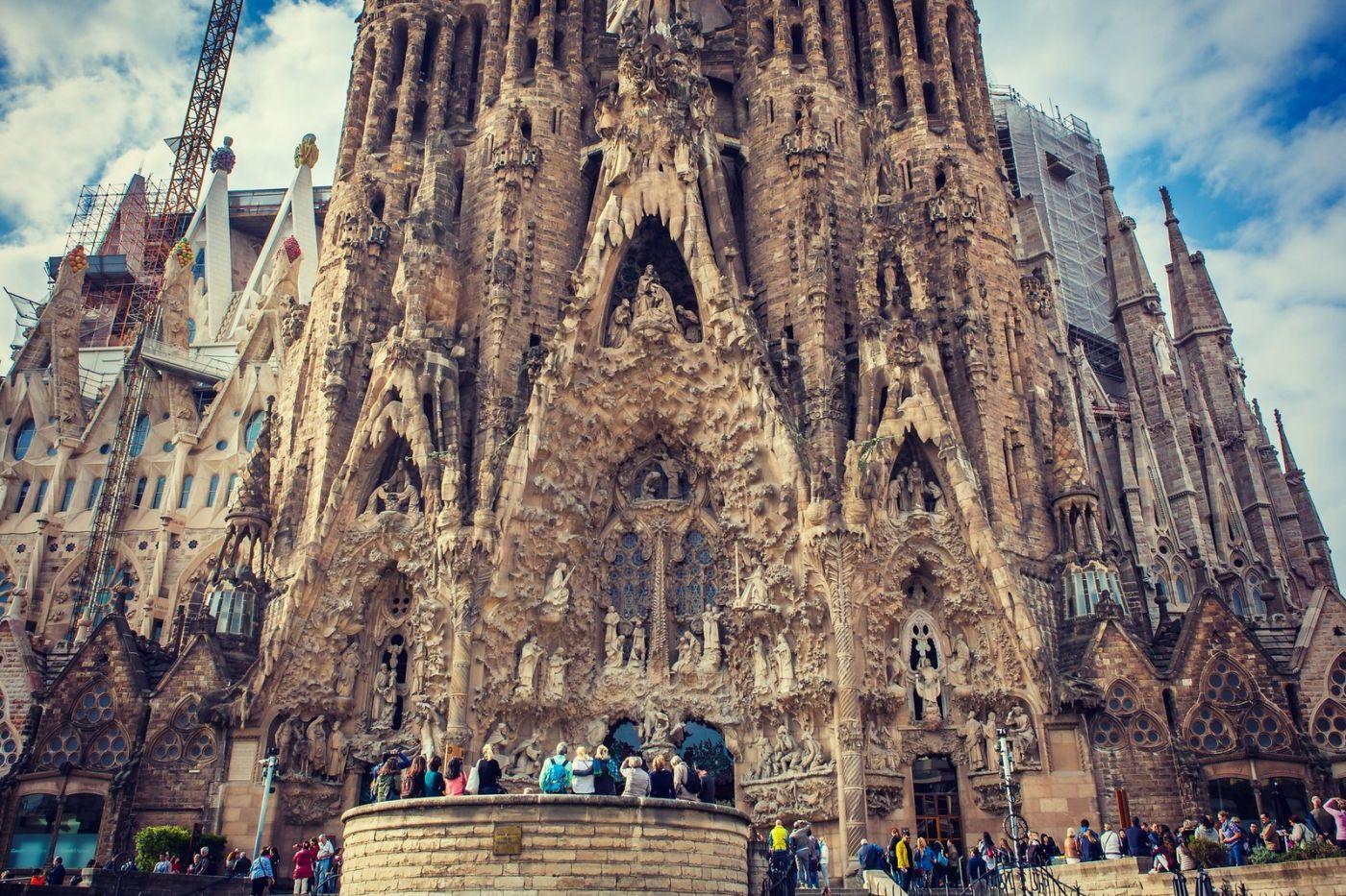 西班牙圣家堂(Sagrada Família), 上帝建筑师-高第的作品_图1-13