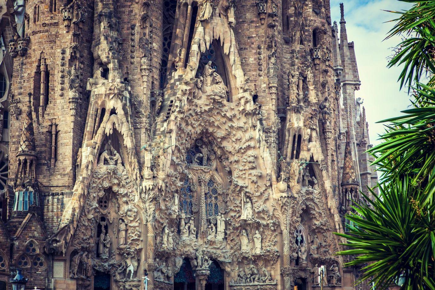 西班牙圣家堂(Sagrada Família), 上帝建筑师-高第的作品_图1-11