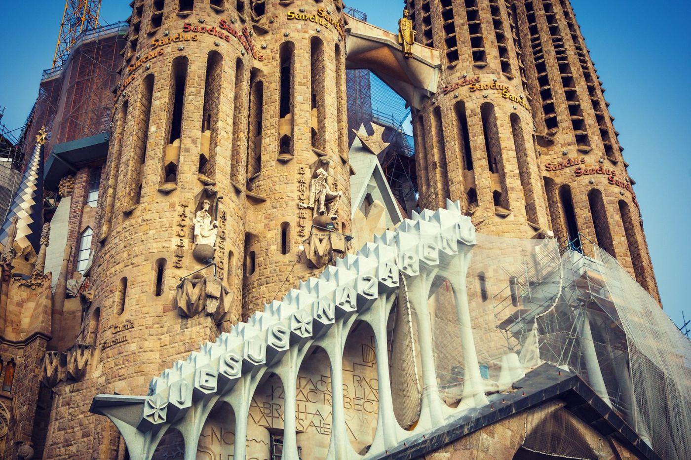西班牙圣家堂(Sagrada Família), 上帝建筑师-高第的作品_图1-10