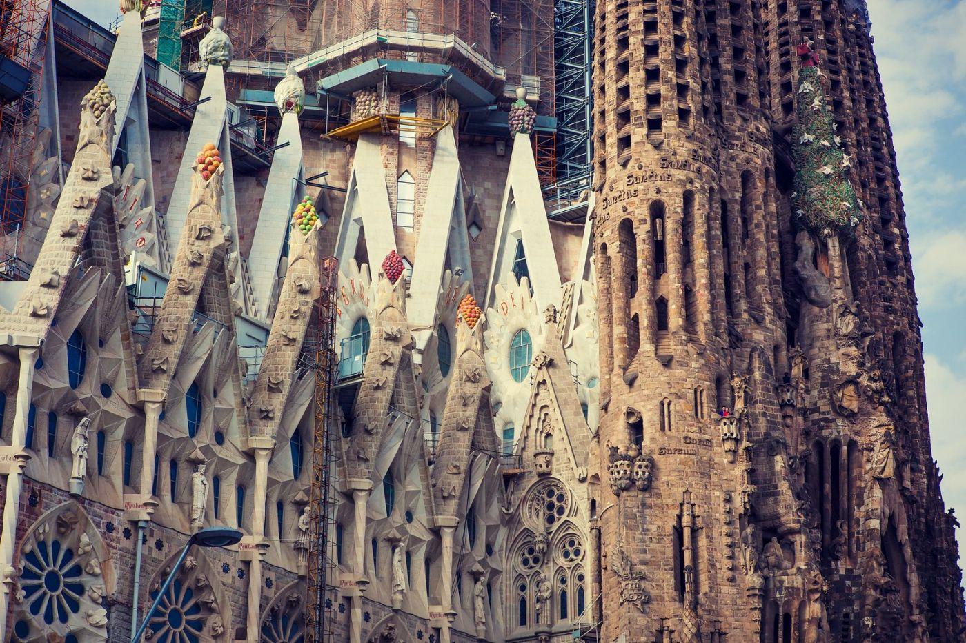 西班牙圣家堂(Sagrada Família), 上帝建筑师-高第的作品_图1-16