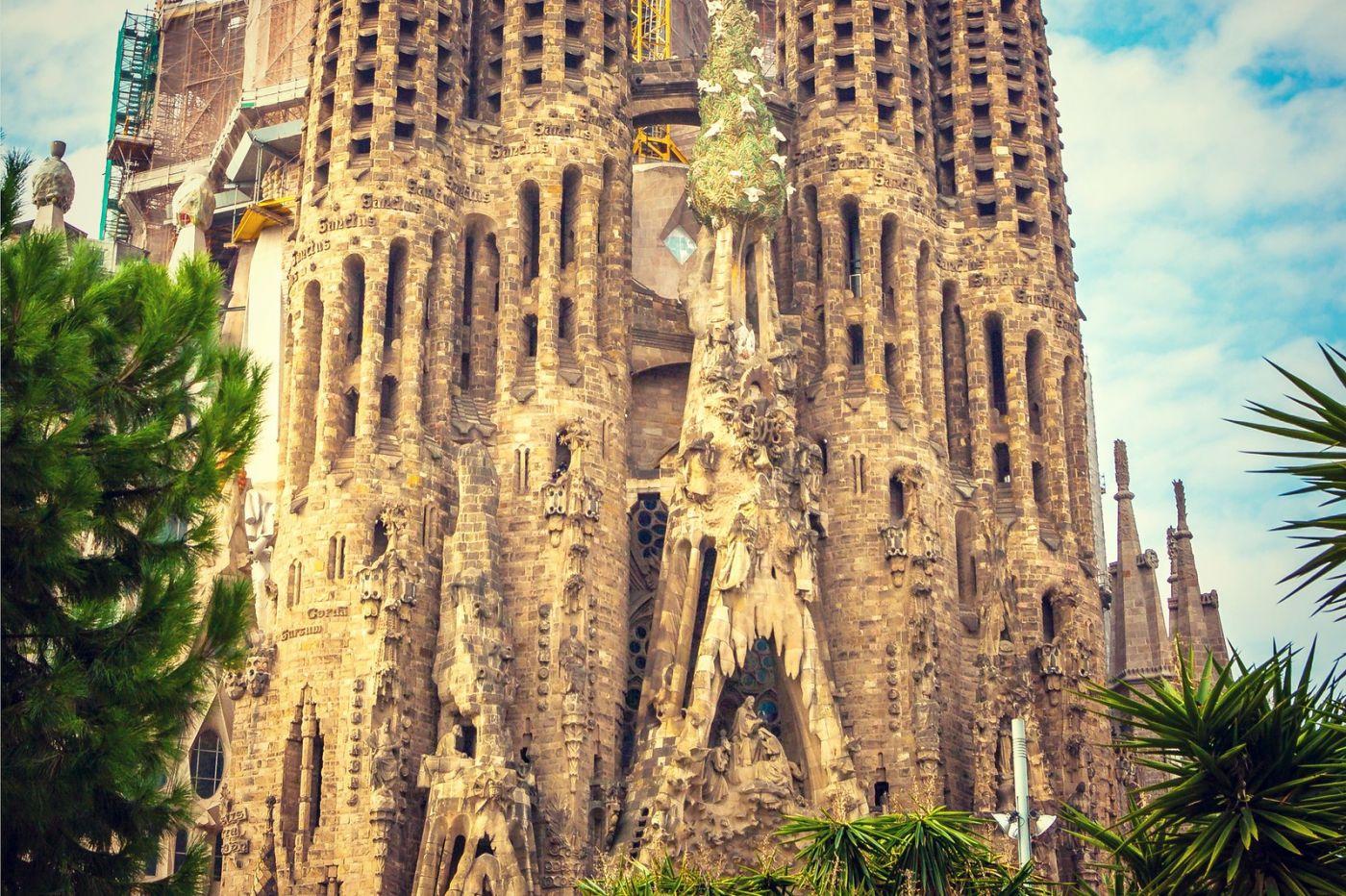 西班牙圣家堂(Sagrada Família), 上帝建筑师-高第的作品_图1-14