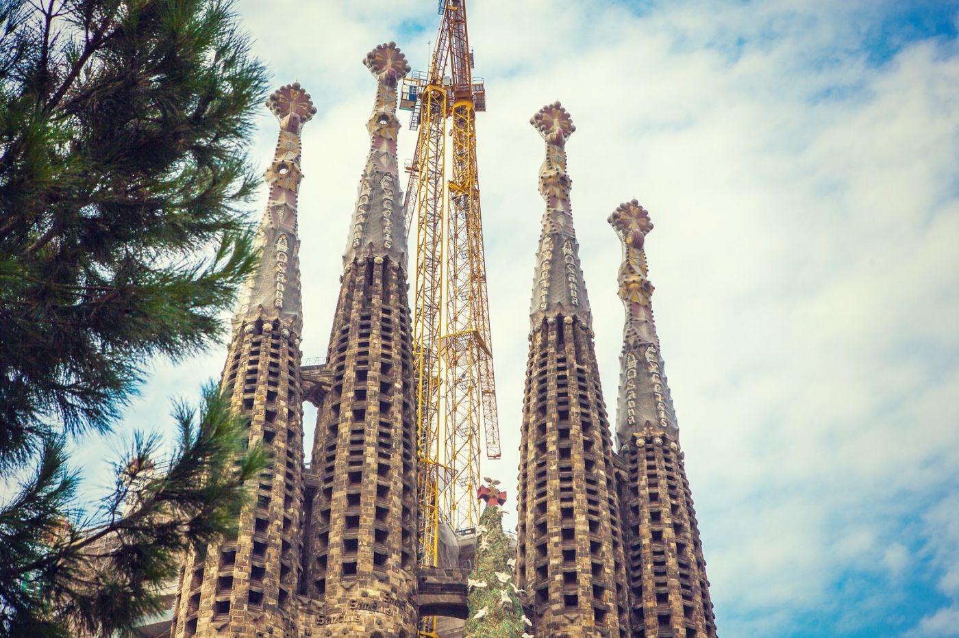 西班牙圣家堂(Sagrada Família), 上帝建筑师-高第的作品_图1-12