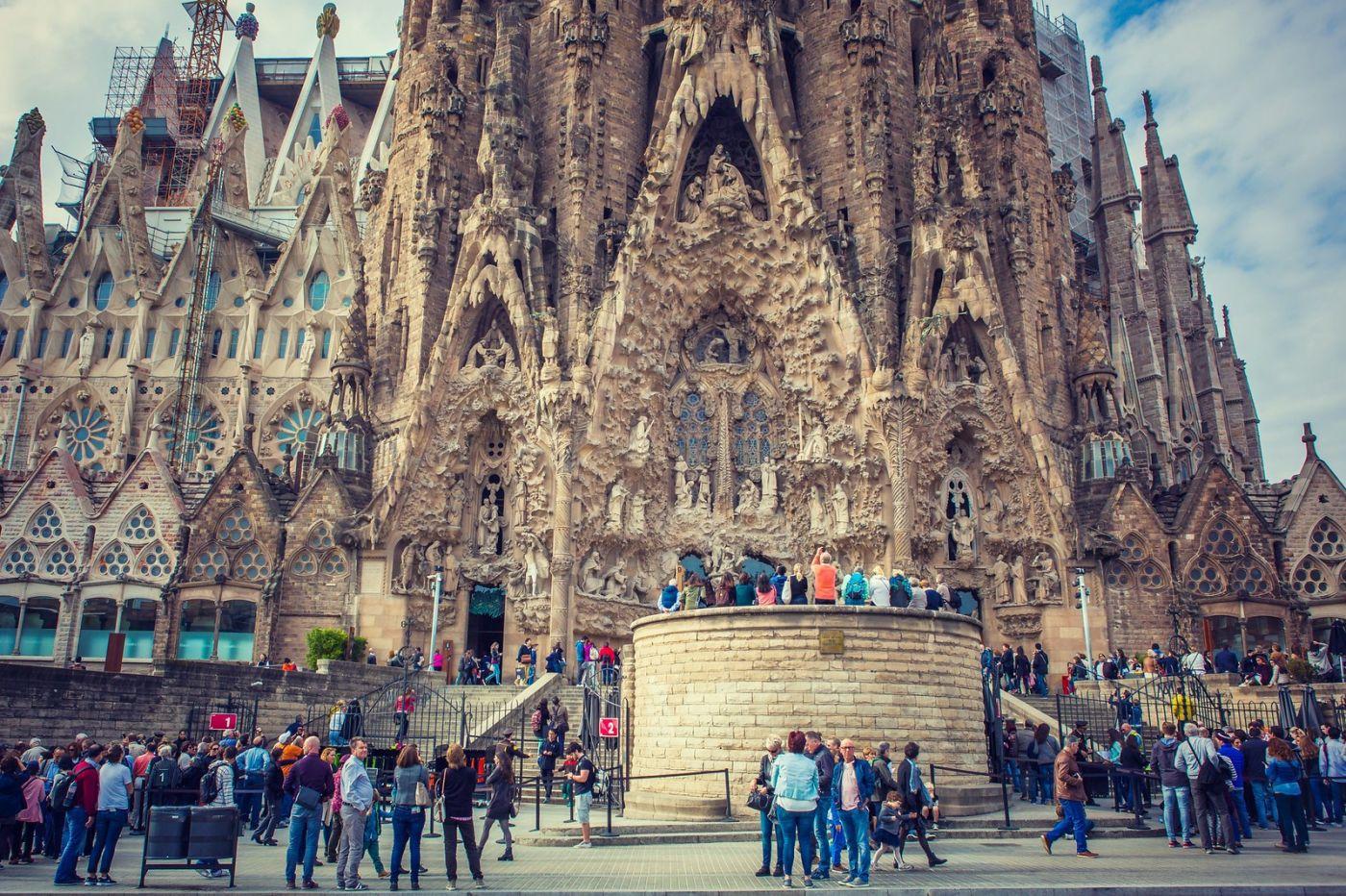 西班牙圣家堂(Sagrada Família), 上帝建筑师-高第的作品_图1-22