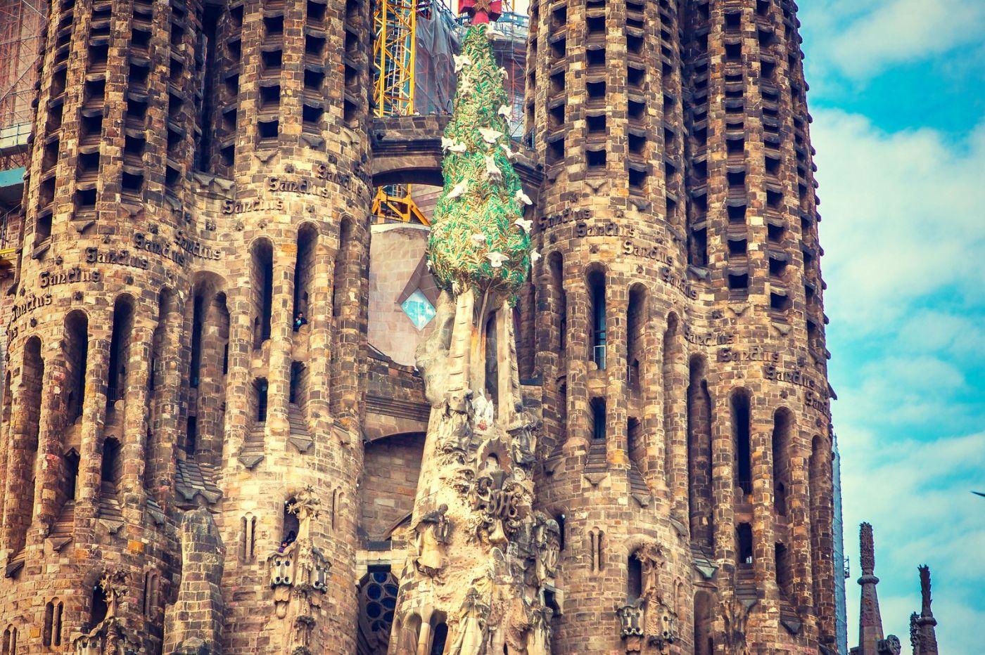 西班牙圣家堂(Sagrada Família), 上帝建筑师-高第的作品_图1-20