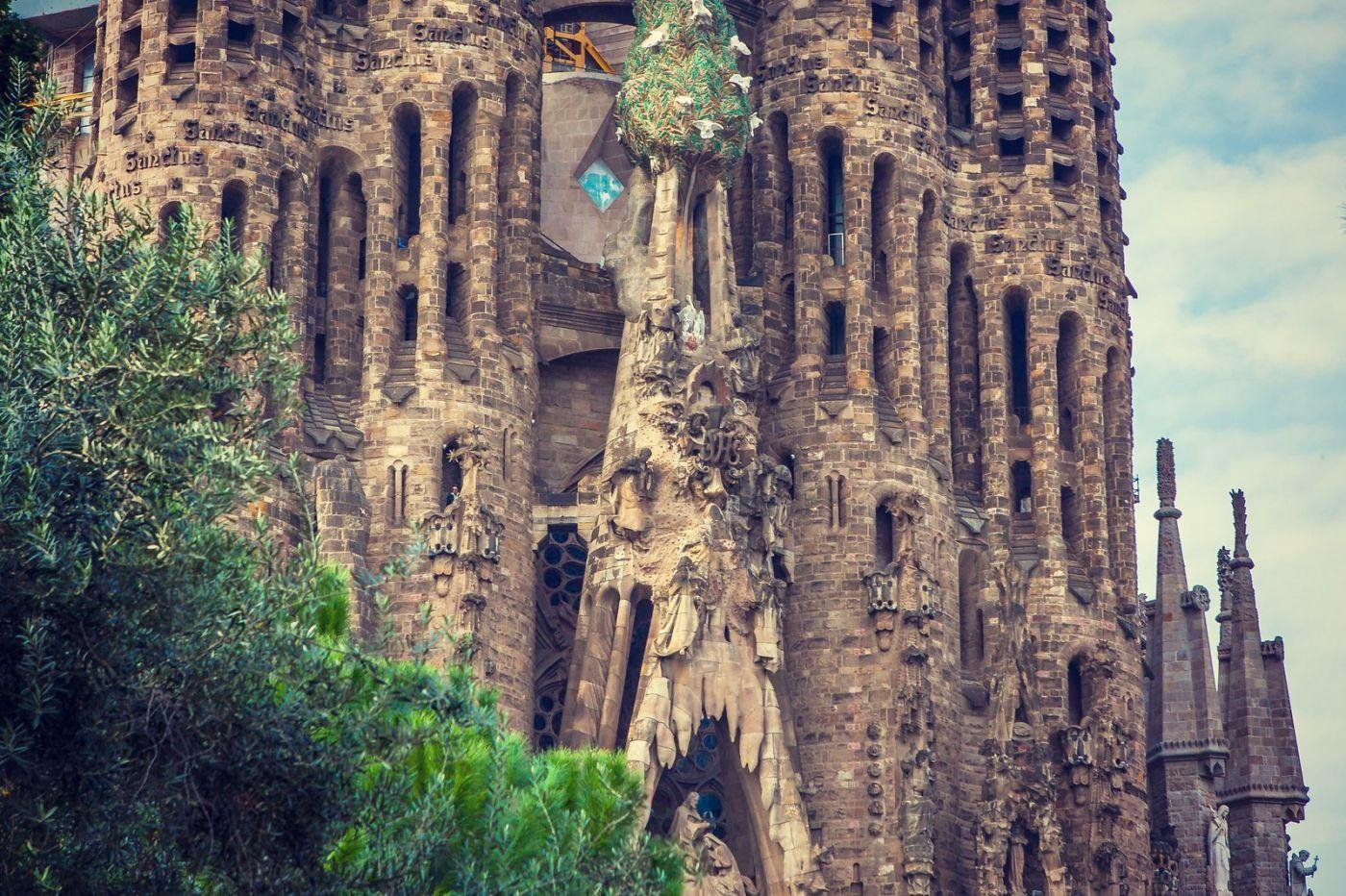 西班牙圣家堂(Sagrada Família), 上帝建筑师-高第的作品_图1-18