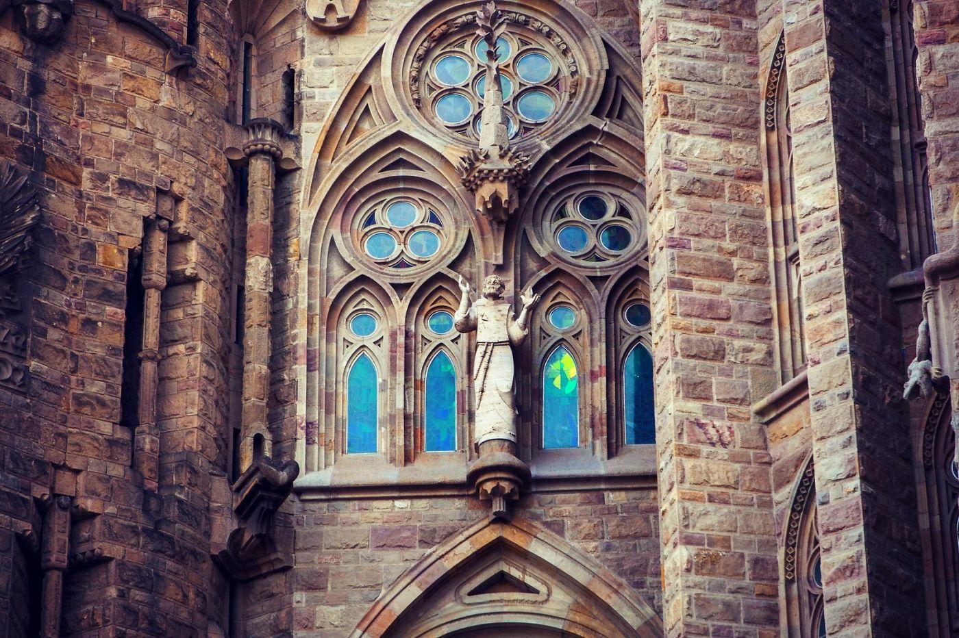 西班牙圣家堂(Sagrada Família), 上帝建筑师-高第的作品_图1-21