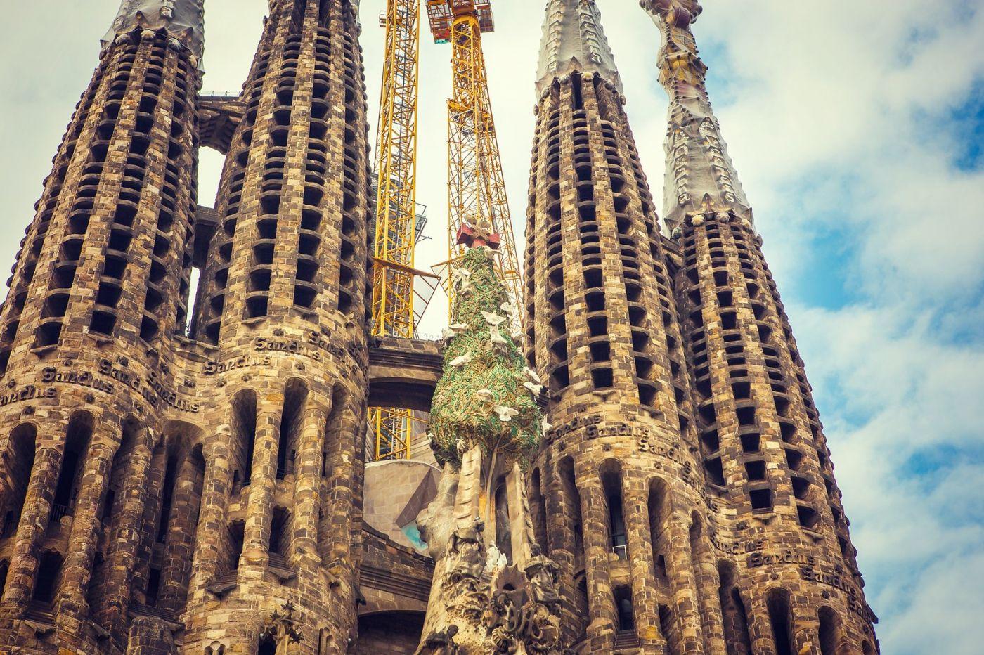 西班牙圣家堂(Sagrada Família), 上帝建筑师-高第的作品_图1-25