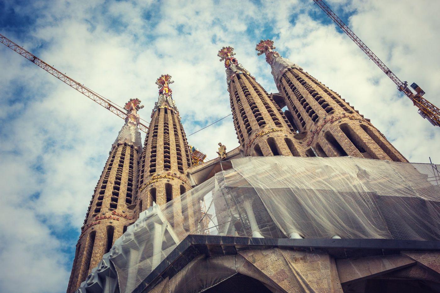 西班牙圣家堂(Sagrada Família), 上帝建筑师-高第的作品_图1-28