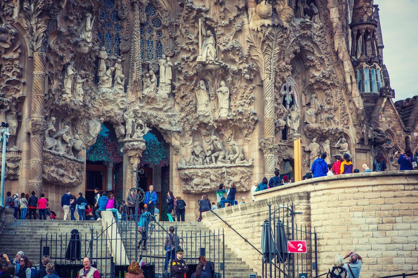 西班牙圣家堂(Sagrada Família), 上帝建筑师-高第的作品_图1-27
