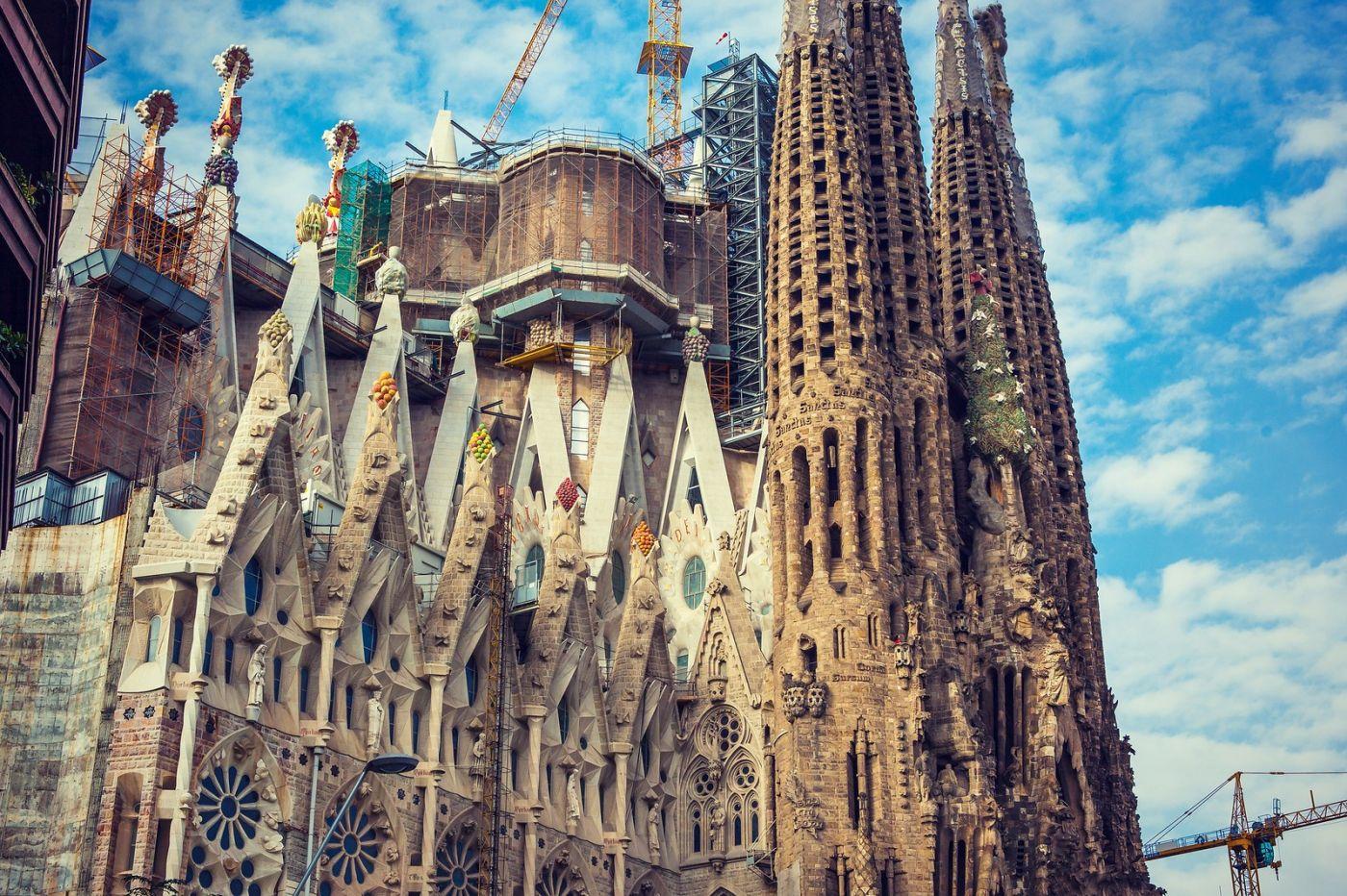 西班牙圣家堂(Sagrada Família), 上帝建筑师-高第的作品_图1-29